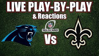 Panthers vs Saints | Live Play-By-Play & Reactions