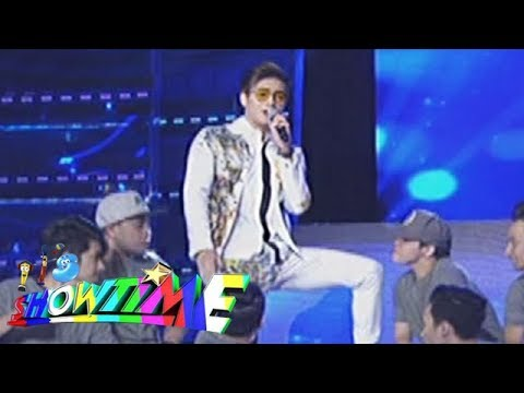 It's Showtime: Birthday boy, Ronnie Alonte performs on It's Showtime stage