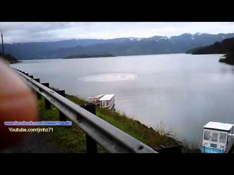 UFO Create strange effect on the water in Costa Rica▬OVNI Crea extraño efecto en el agua 29/07/2015
