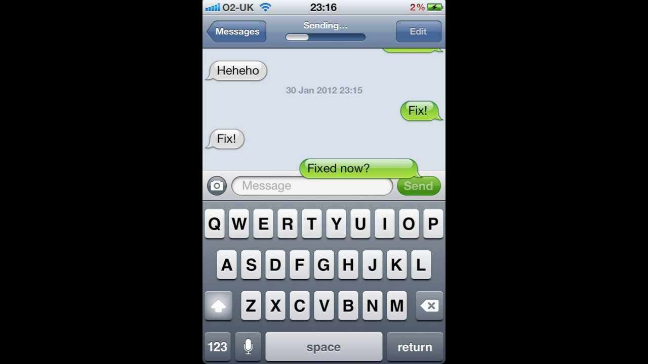 how to make your messages private on iphone 4