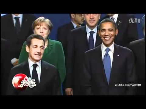 2011 G20 President Hu Ignoring President Sarkozy