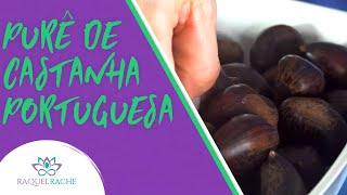 Purê de Castanha Portuguesa | Com Minha Mãe | Natal Vegano