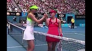 Maria Sharapova vs Angelique Kerber 2012 AO R3 Highlights