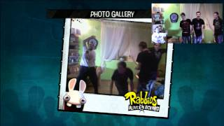 Raving Rabbids : Alive and Kicking s CrazyElders (Xbox 360 Kinect)
