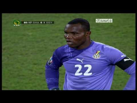 Ghana vs Egypt Final 2010 هدف نهائى كاس الامم