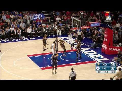Indiana Pacers vs Philadelphia 76ers | November 11, 2016 | NBA 2016-17 Season