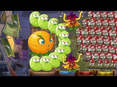 Plants vs Zombies 2 Battlez - Laser Bean vs Witch Hazel vs Citron