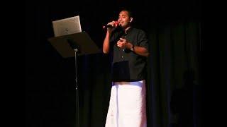 Vannathi Puzhayude Theerathu - Karaoke Song By Hari V Pillai - GramNY Onam 2018