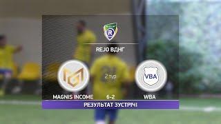 Обзор матча Magnis Income 6 2 VBA R CUP Турнир по мини футболу в Киеве