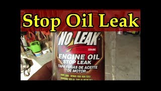 How to find, stop and seal your engine's oil leak- Imagine no more oil stains or oil smell