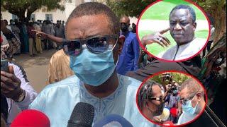 Arrivée de Youssou Ndour et sa réaction au levée du corps de Thione Seck à l'hôpital fann