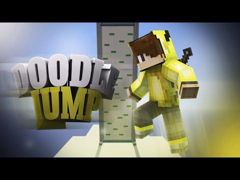 SİNİR KRİZİ ! (Minecraft : Doodle Jump)