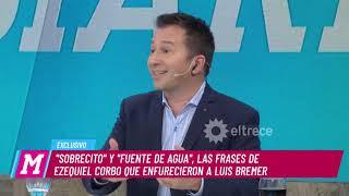 Luis Bremer denunciará penalmente a Ezequiel Corbo, productor de Dabope