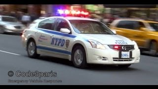 NYPD Police Car Surge X2