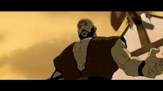 Team Avatar VS Combustion Man: Full Fight [HD]