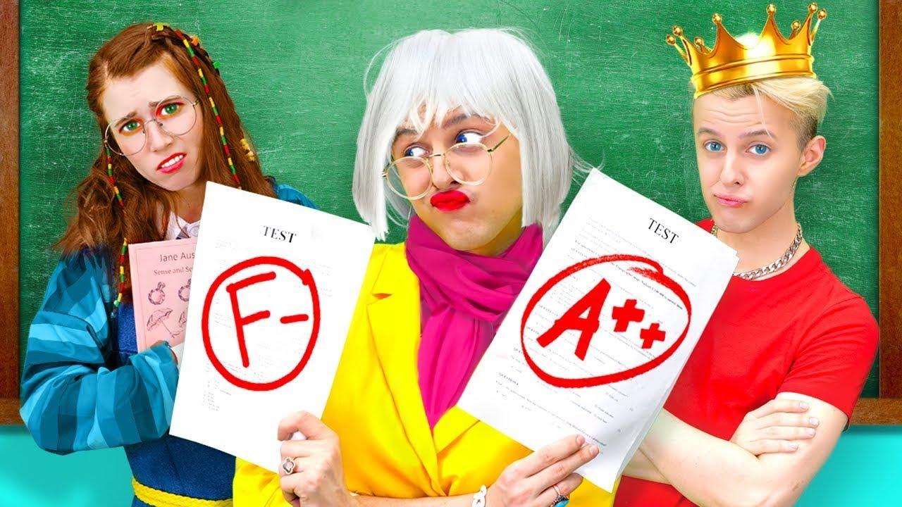 Si ma mère était la directrice de l'école || Situations drôles au lycée, comédie par La La L'R