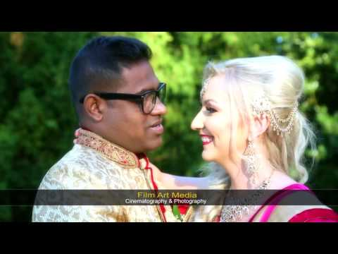 Baiju and Paulina Wedding Highlights |  Asian Wedding| East London | Film Art Media