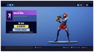 New Dance: SAXO SOLO on FORTNITE Battle Royale (800 vBucks)
