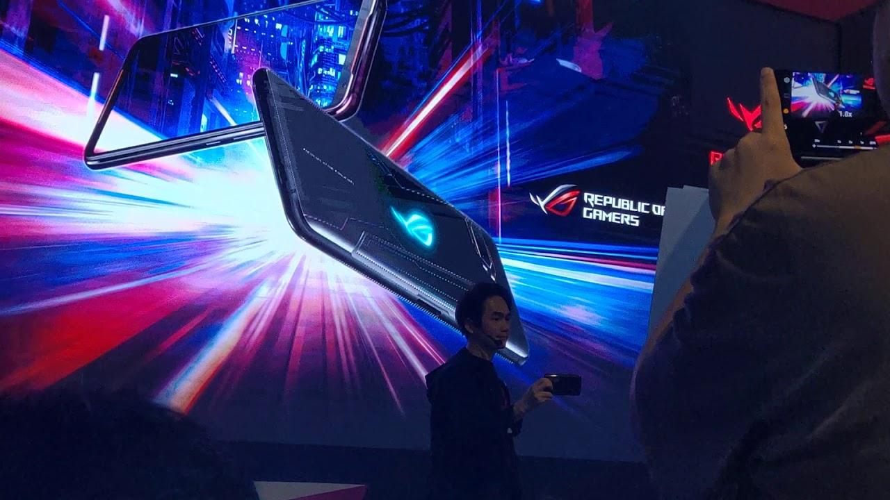 華碩電競手機ROG Phone II香港產品發佈會 - YouTube