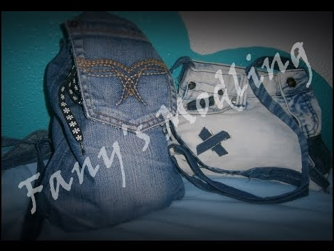 Fany Diy Viejos Bolsomochila Con Pantalones Modling ~ CXwqTO