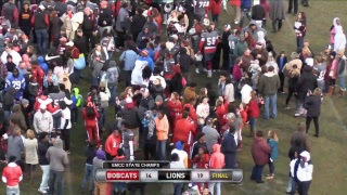 Football STATE CHAMPIONSHIP  #1 EMCC Lions @ #4 Jones Bobcats