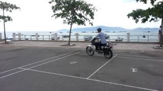 МотоВьетнам: Навчання водінню на мотоциклі з механічною КПП в Нячанге
