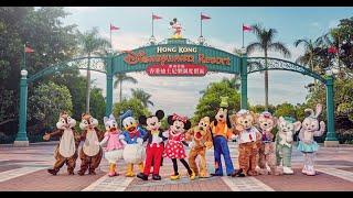 naumi arjun in Disneyland hongkong