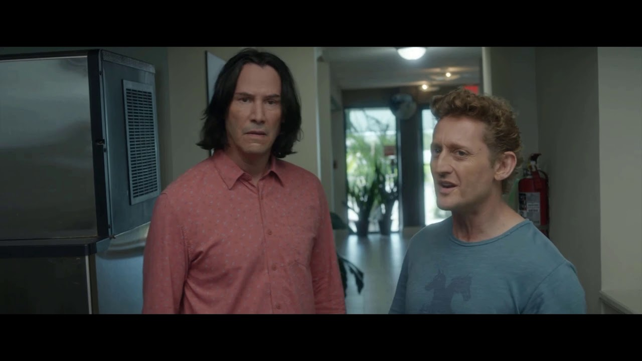 Download Bill and Ted Face The Music - They Visit Themselves 2 Years In The Future in San Dimas