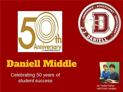 50th Anniversary Celebration at Daniell Middle School
