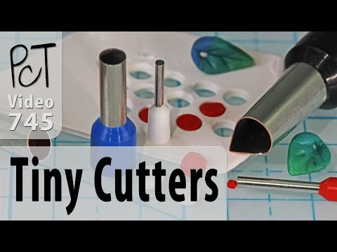 Teeny Tiny Polymer Clay Cutters by Little Funky Tools