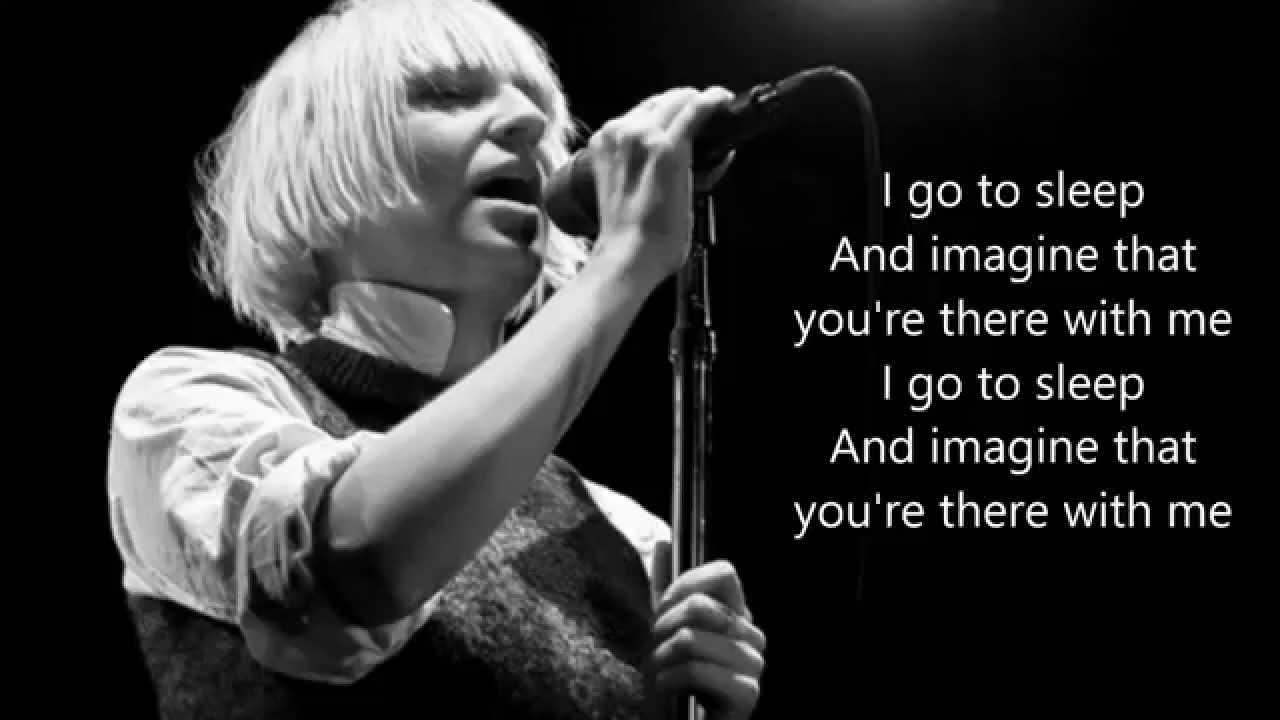 Sia - I go to sleep (lyrics) - YouTube
