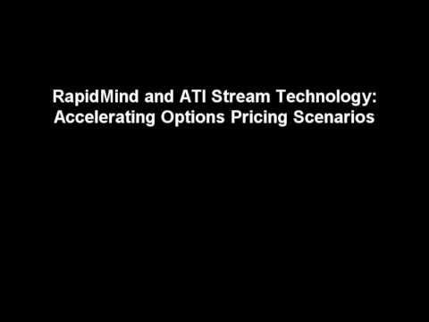 ATI Stream Technology Demo with RapidMind