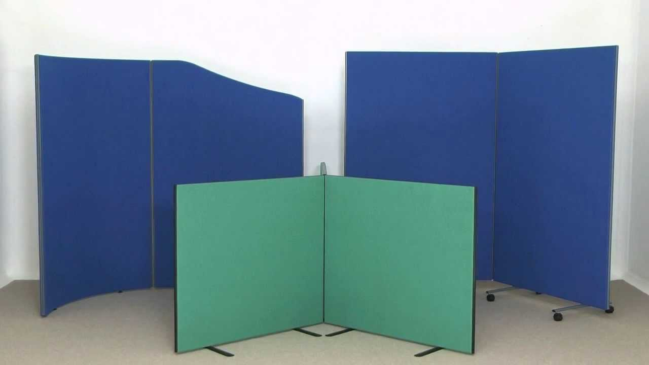 Attractive Budget Office Divider Screens   Office Furniture Screens From Go Displays    YouTube