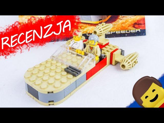 LEGO STAR WARS 7110 Landspeeder / Recenzja setu z 1999 roku