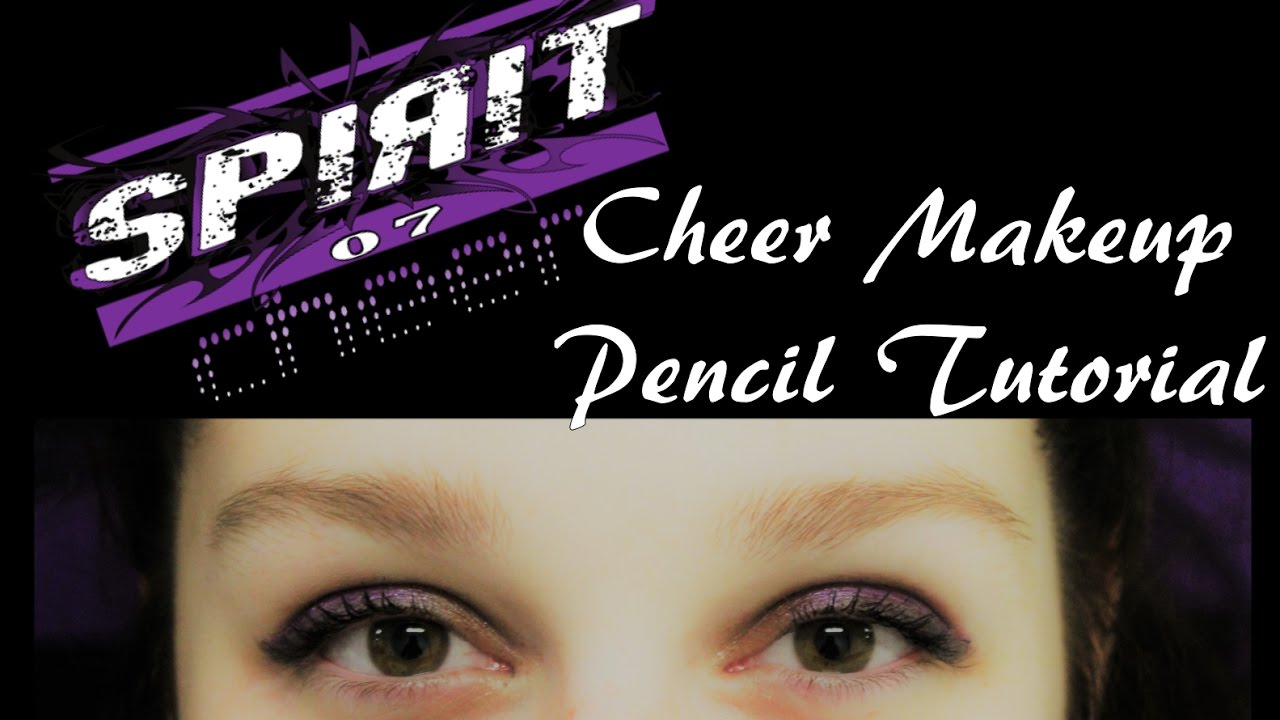 Cheer makeup tutorialpencil youtube cheer makeup tutorialpencil baditri Image collections