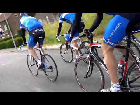 DB telecom Cycling Team goes to the Dutch Mountains (1)