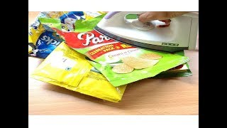 Reuse Empty Packets | Best out of Waste Craft | Recycling plastic bags | DIY home Decorating Idea