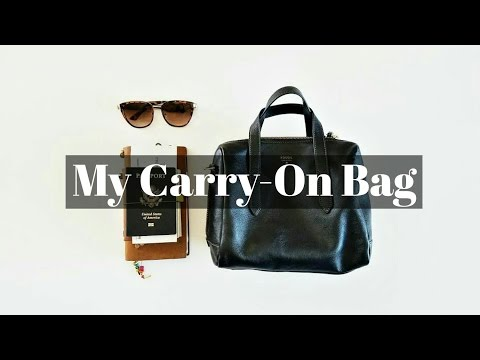 My 7 Carry-On Travel Tips