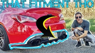 REAR DIFFUSER INSTALL Genesis Coupe HOW TO