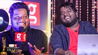 """Naan Field Out Aaiten"" – Black Sheep RJ Vigneshkanth Funny Speech at Galatta Debut Awards 2018"