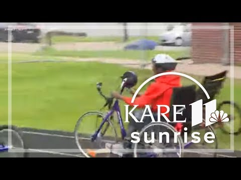 Adapted Bike Day at Edison High School