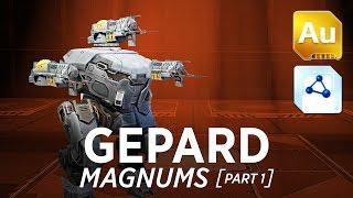 Gepard Magnums - War Robots - Gameplay (Dead City) - Part 1