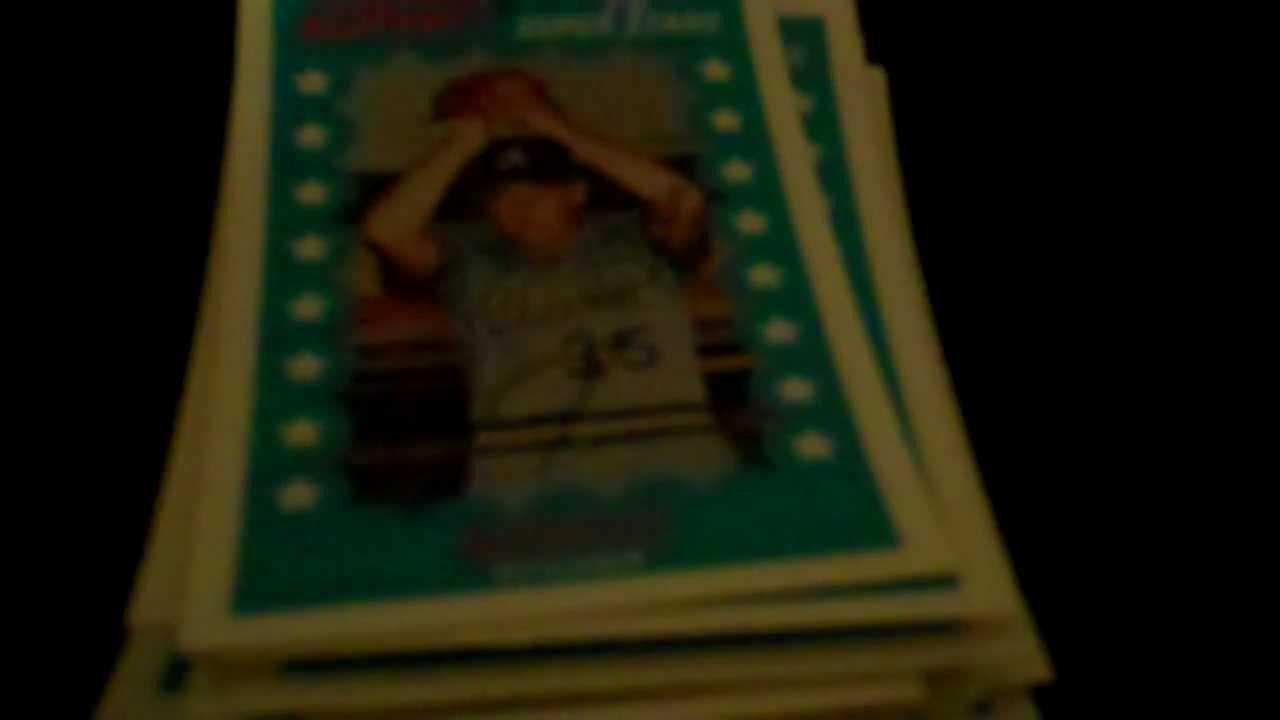 Rare Kelloggs 3 D Superstar Baseball Card Collection