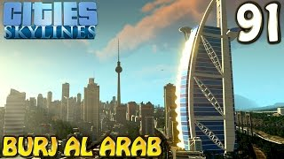 Cities Skylines Deutsch inkl. Mods #091 Burj Al Arab (Let's Play Cities: Skylines German)