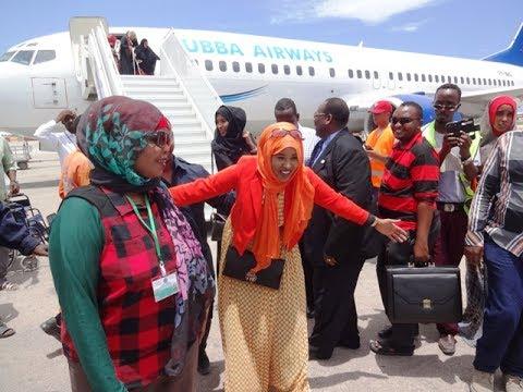 Farhiya Kabayare oo ku food leh Somalia iyado u socto Muqdisho