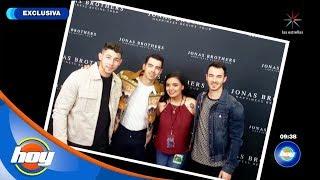 ¡Susana conoció a los Jonas Brothers gracias a HOY!