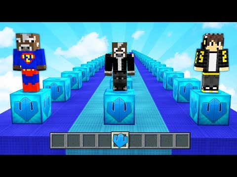 Los LUCKY BLOCKS de WILLYREX vs LOS MEJORES YOUTUBERS😂 - Minecraft Lucky Blocks