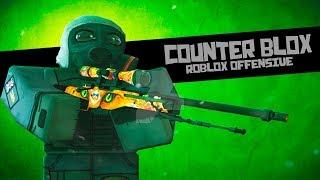 Roblox Counter Blox (CB:RO) Sniper Show yaptâm! Xd