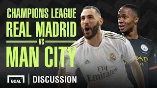 Real Madrid v Man City Champions League Preview Show