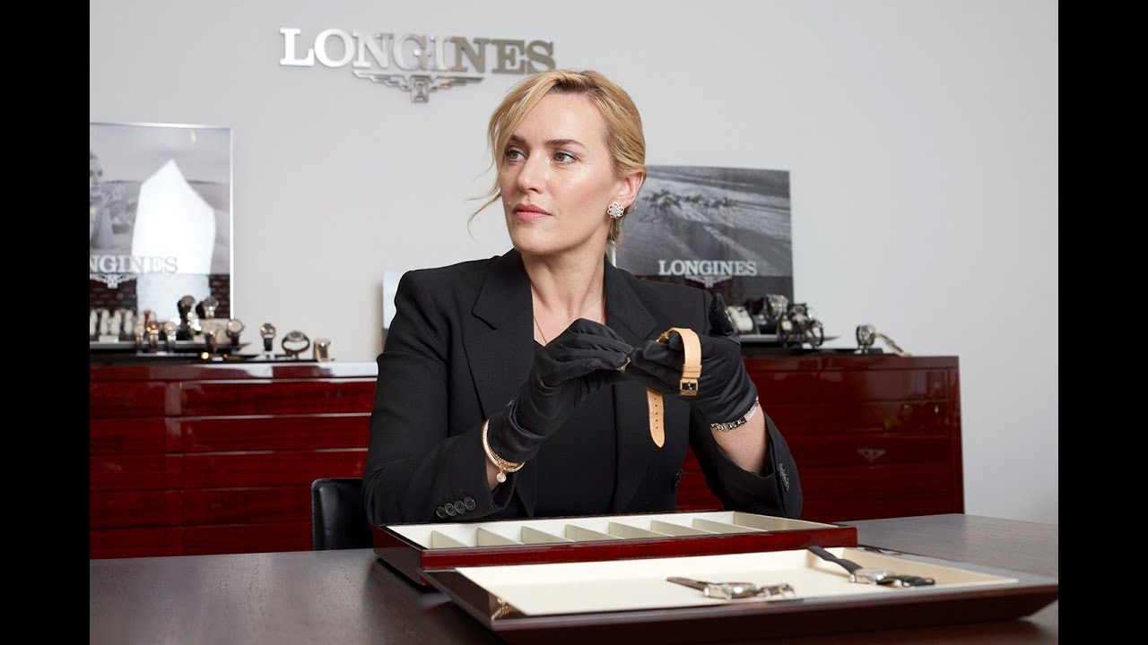 Download Longines welcomes Kate Winslet to Saint-Imier